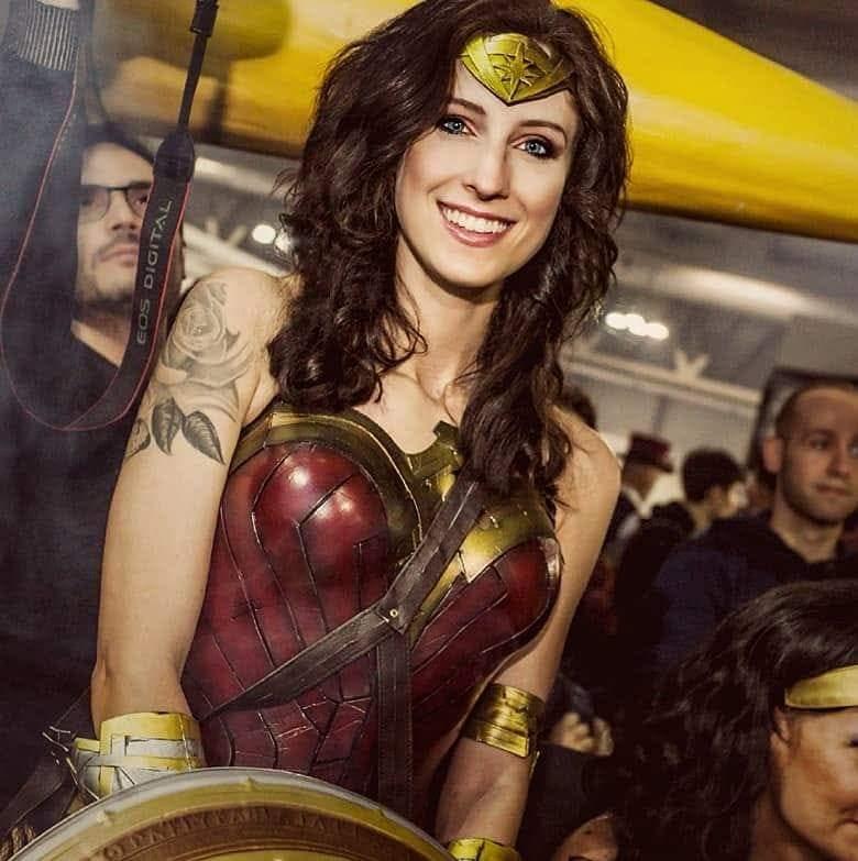Giada Folcia in Wonder Woman