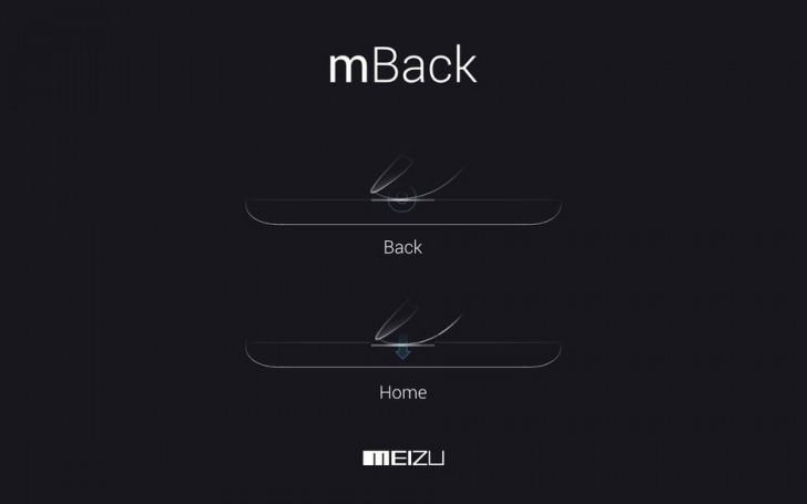 Smartphone Android Meizu 16 mBack
