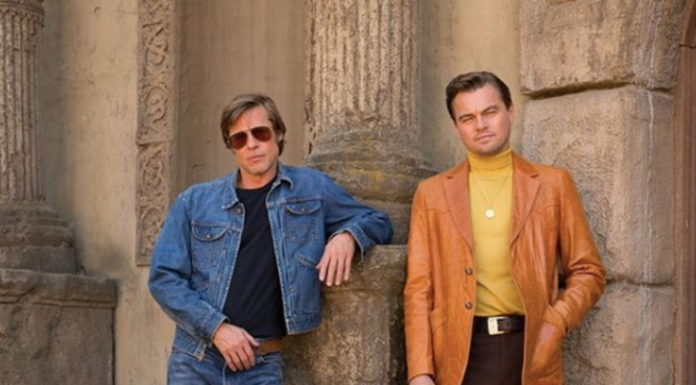 Copertina Once upon a time in Hollywood