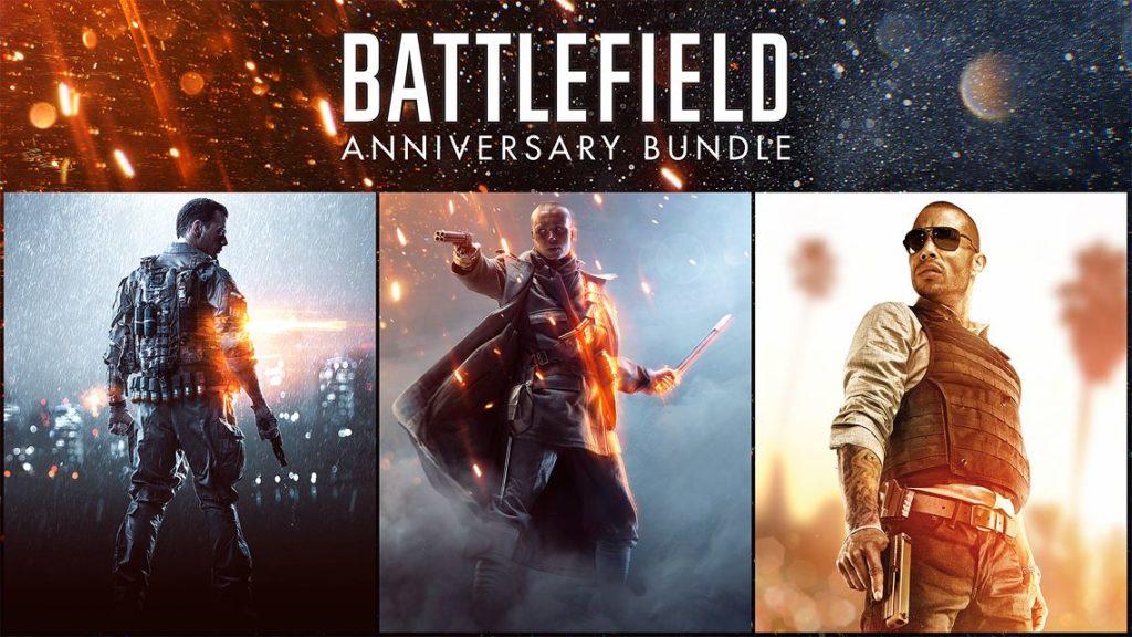 Playstation Store EA Battlefield Anniversary Bundle
