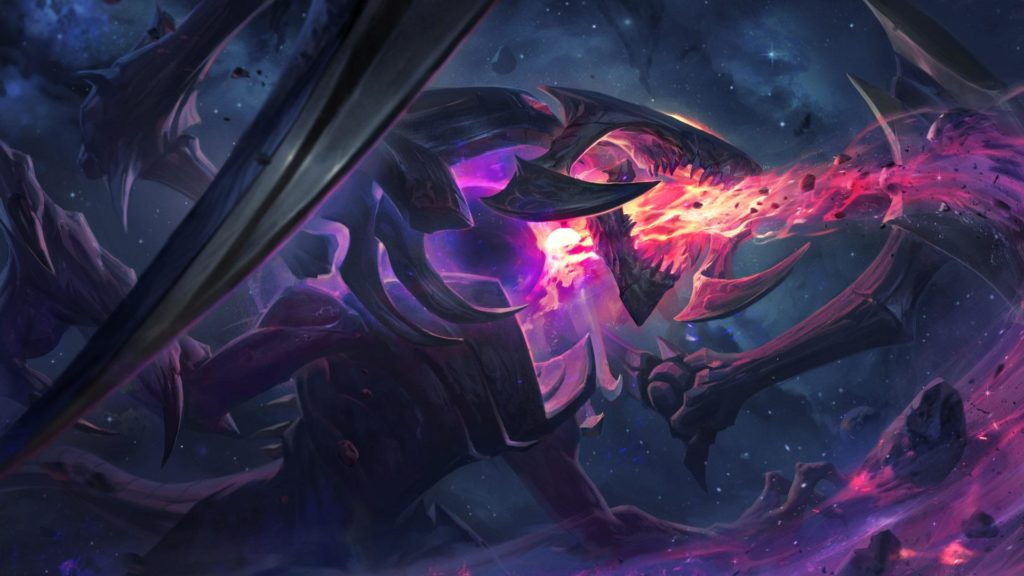 League of Legends Patch 8.14 Cho'Gath Stella Oscura