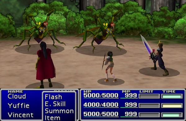FFVII Battle System