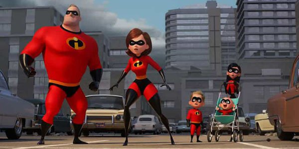 Gli incredibili- famiglia
