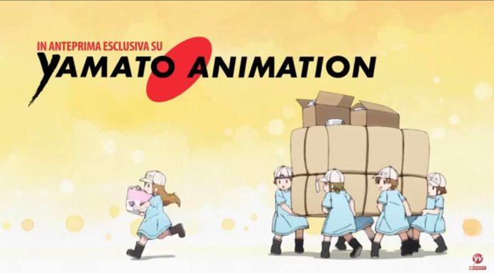 Yamato Animation Cells at work