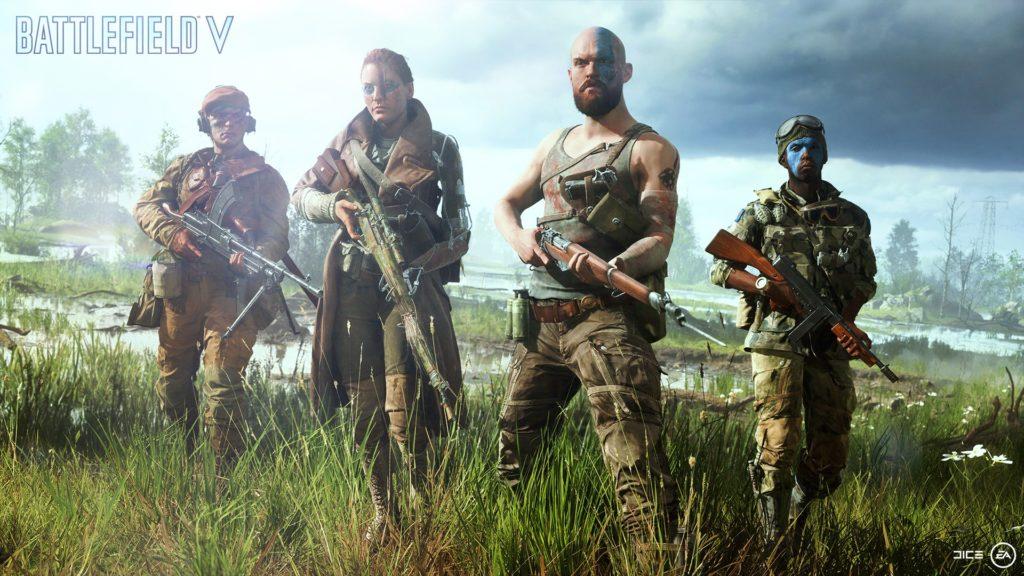 Battlefield V Characters