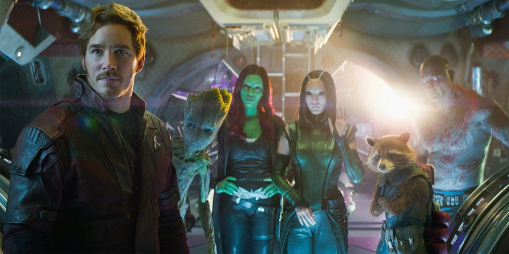 Guardiani della Galassia Chris Pratt Marvel Gunn