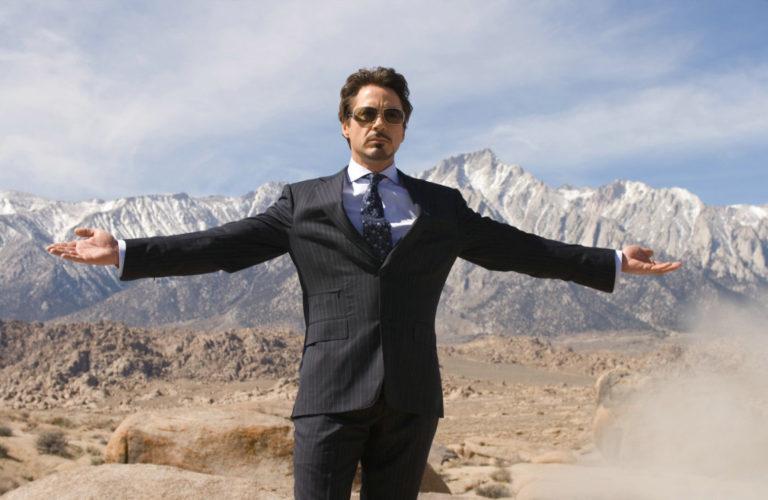 Tony Stark ( Robert Downey Jr ) - Iron Man