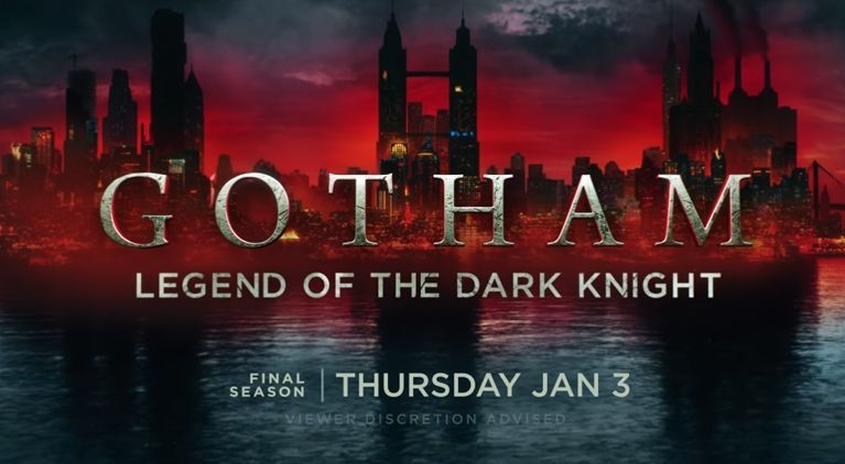 "Gotham 5, rivelato il titolo dell'ultima stagione: ""Legend of the Dark Knight"""