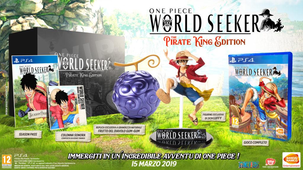 One PIece World Seeker Bandai Namco