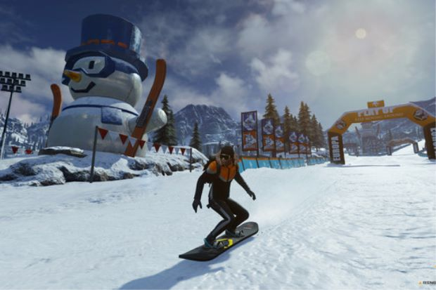 Ring of Elysium snowboard battle