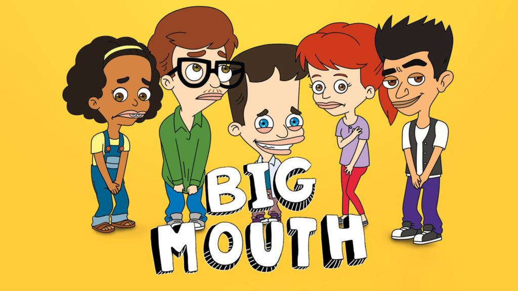 Netflix: Big Mouth con lo speciale di san valentino dall'8 febbraio