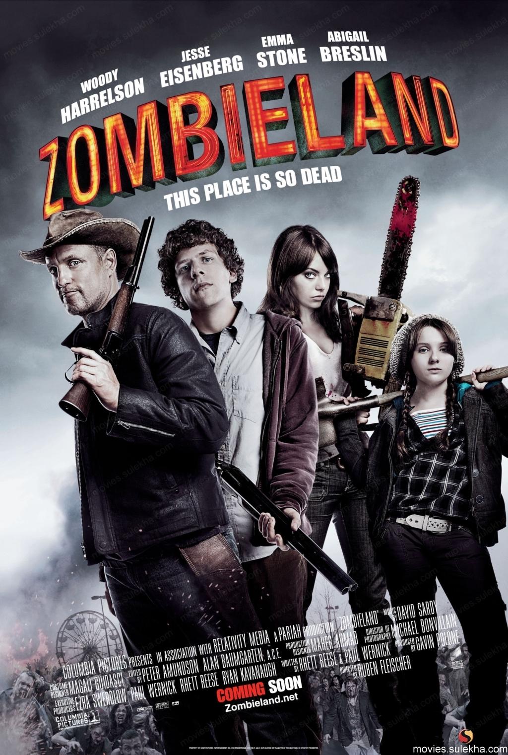 Poster della commedia horror Benvenuti a Zombieland