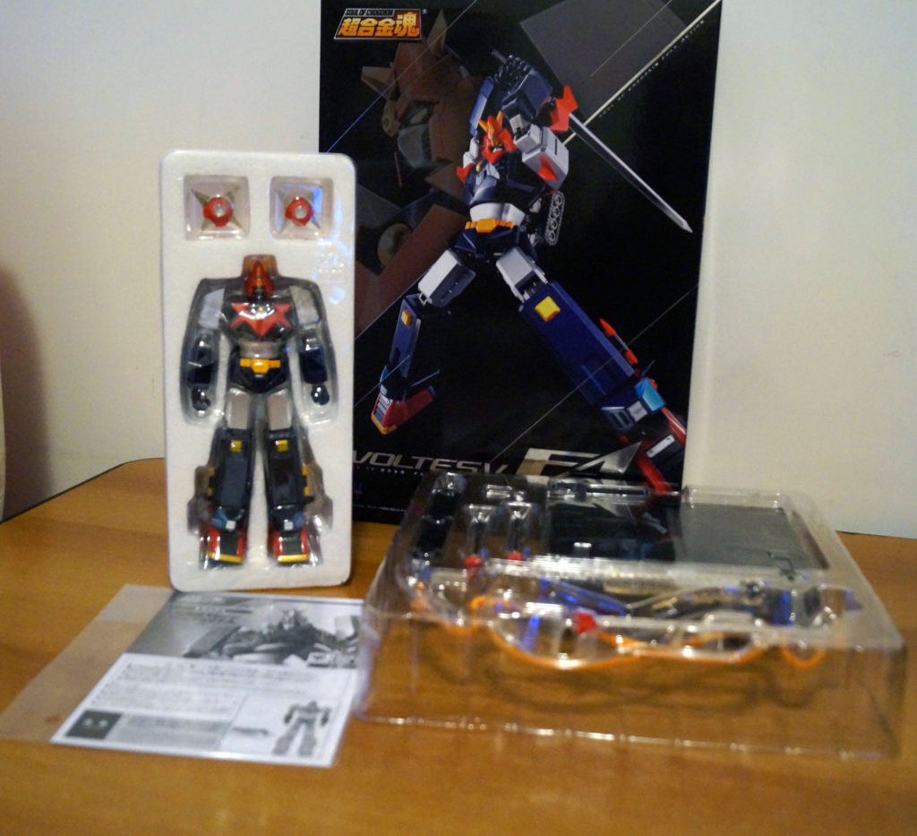 GX-79 Voltes V Full Action