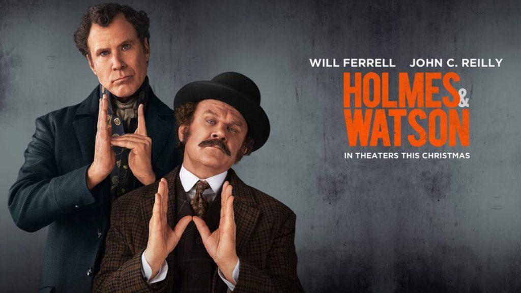Holmes Watson Netflix Sony cinema