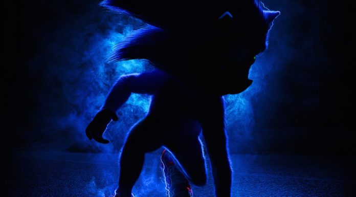 Sonic movie poster trailer look twitter