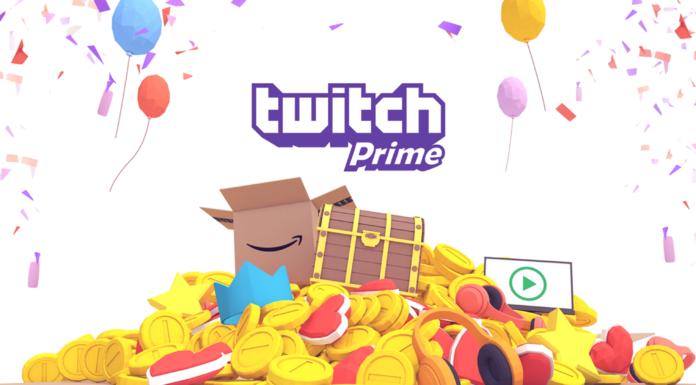 Twitch Prime gratis dicembre