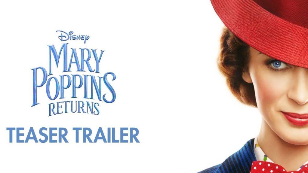 Il ritorno di Mary Poppins (Mary Poppins Returns ) agli Oscar 2019- con Emily Blunt
