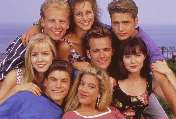 beverly hills 90210 - reboot serie tv cast originale
