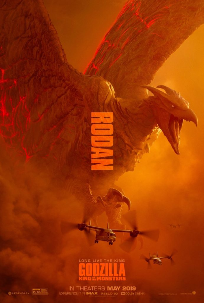 Rodan - Poster