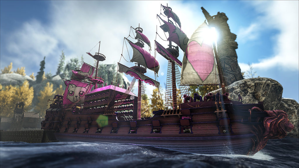 Atlas ship bandiere pvp
