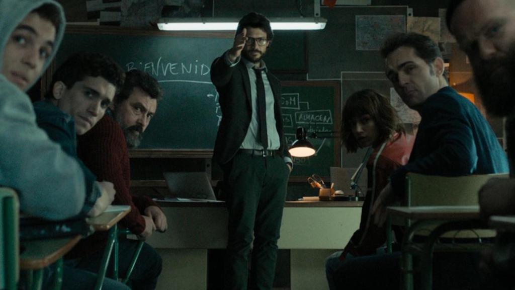 La Casa di Carta & Stranger Things: Netflix svela il piano di Dustin