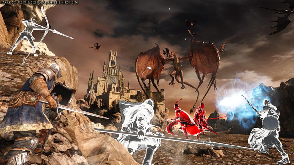 Dark Souls trilogy DLC multiplayer