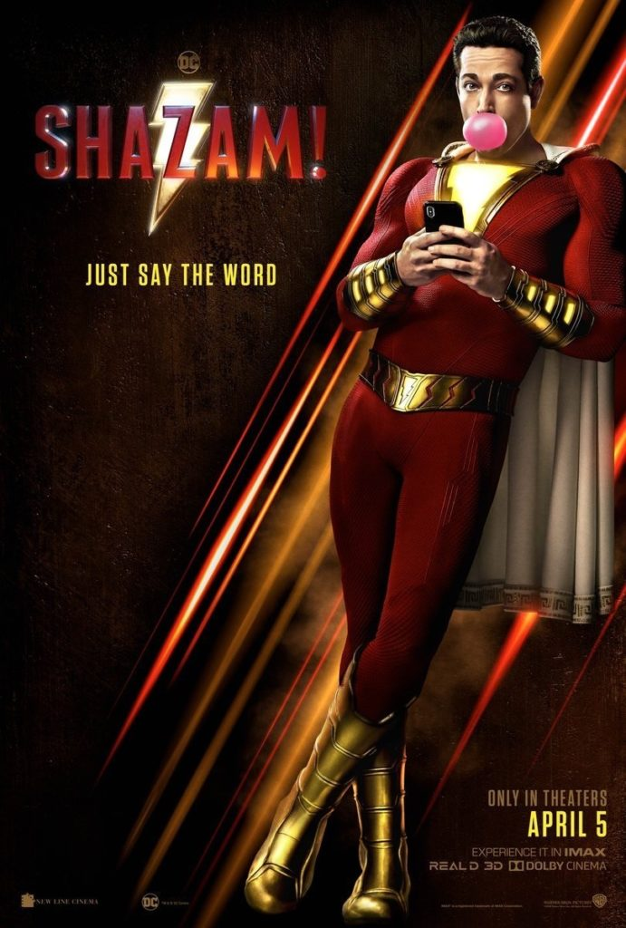 Shazam! (DC) : Zachary Levi