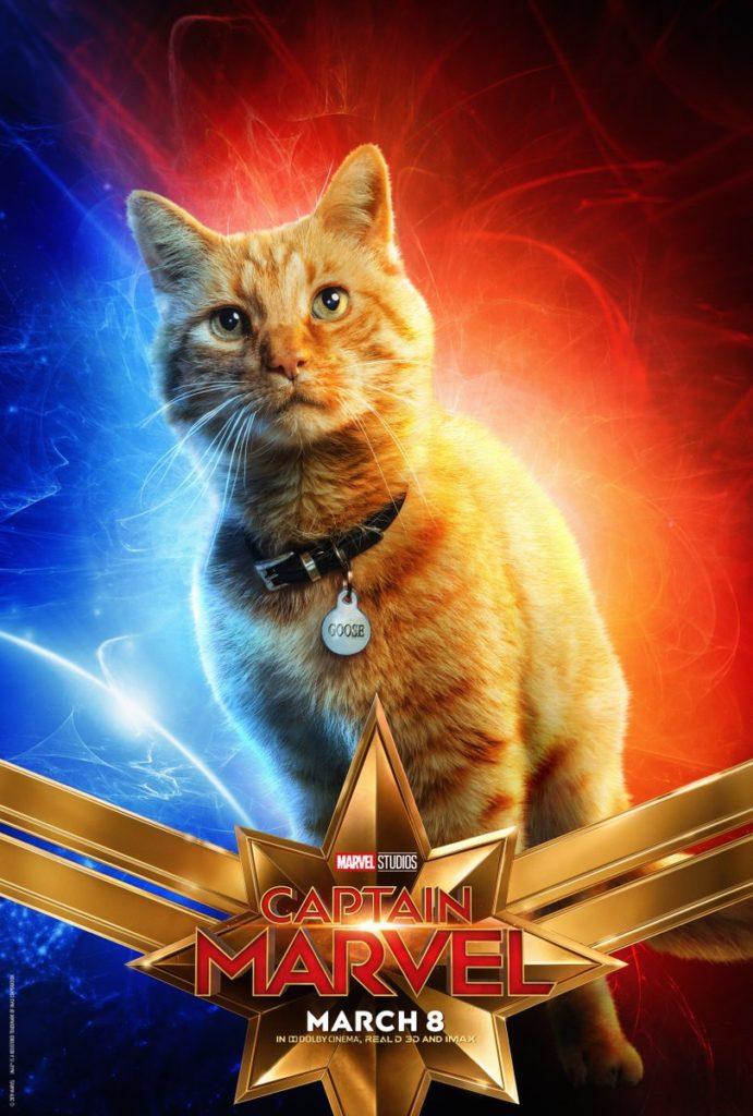 Captain Marvel nuovi poster
