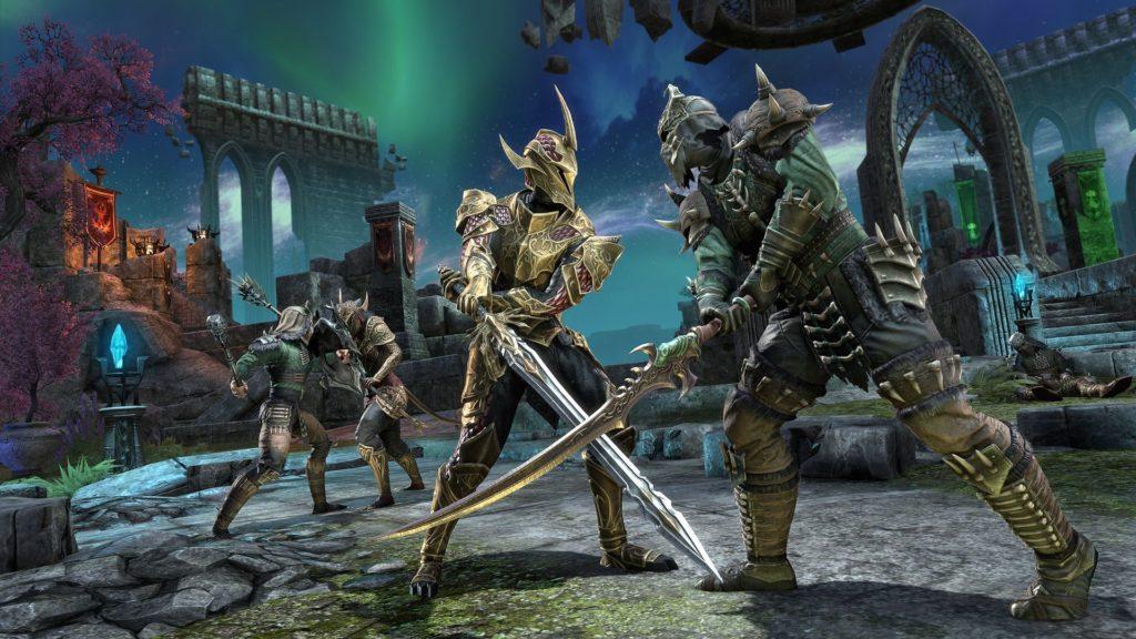 Elder Scrolls Online pvp nuova arena bg