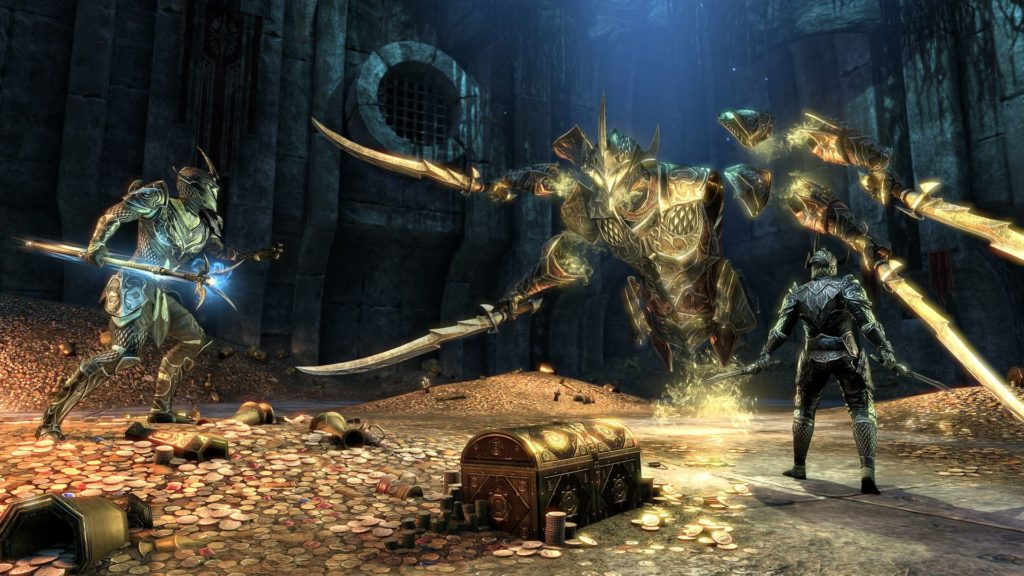 Bethesda ESO boss dungeons Malatar rovine wrathstone