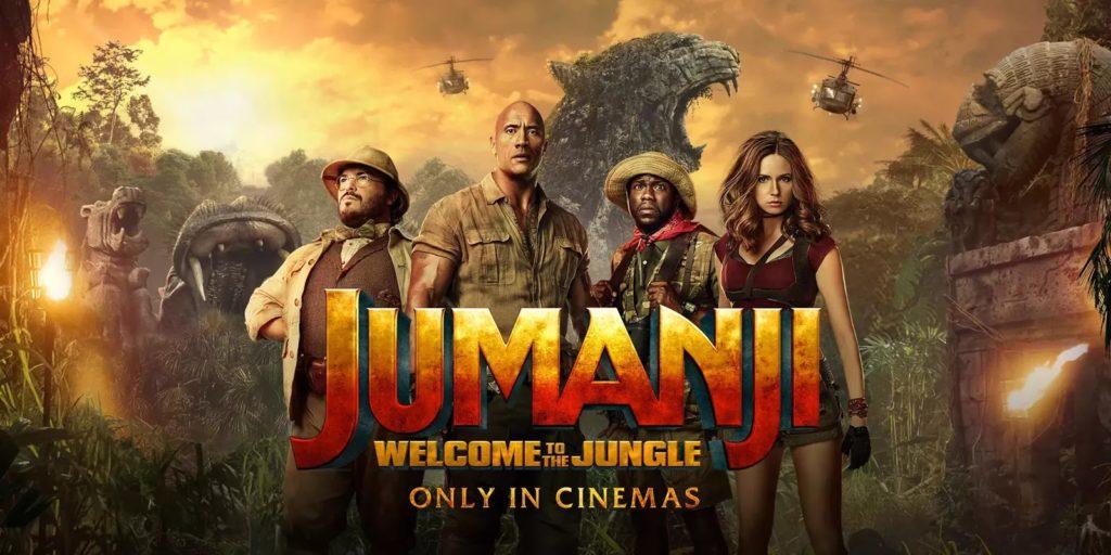 danny DeVito jumanji 3 the rock cast
