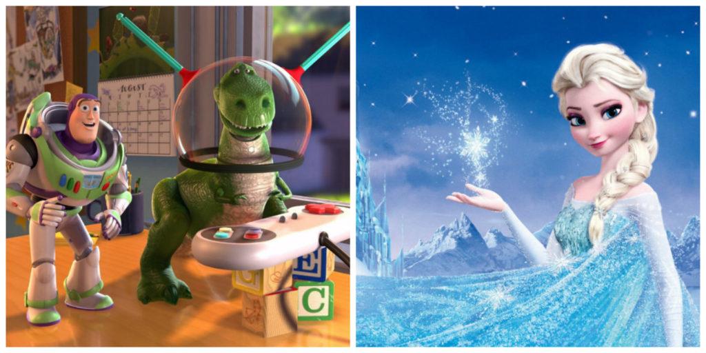 Kingdom Hearts III Frozen Toy Story test personalità avatar