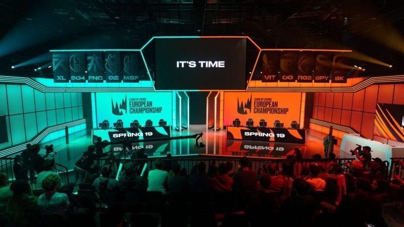 LEC LoL Arena team eSports Twitch