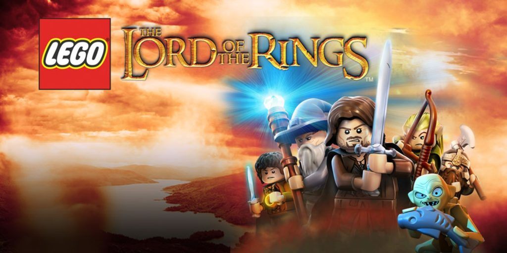 Lego Lord Of the rings gioco rimossi PC licenza