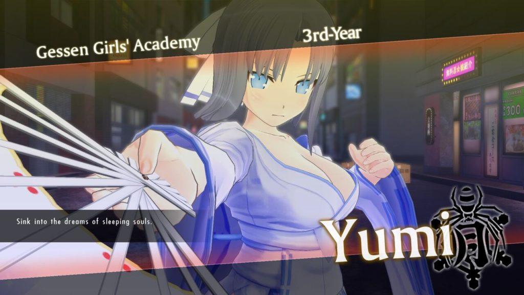 Senran Kagura Yumi ps4 censurata