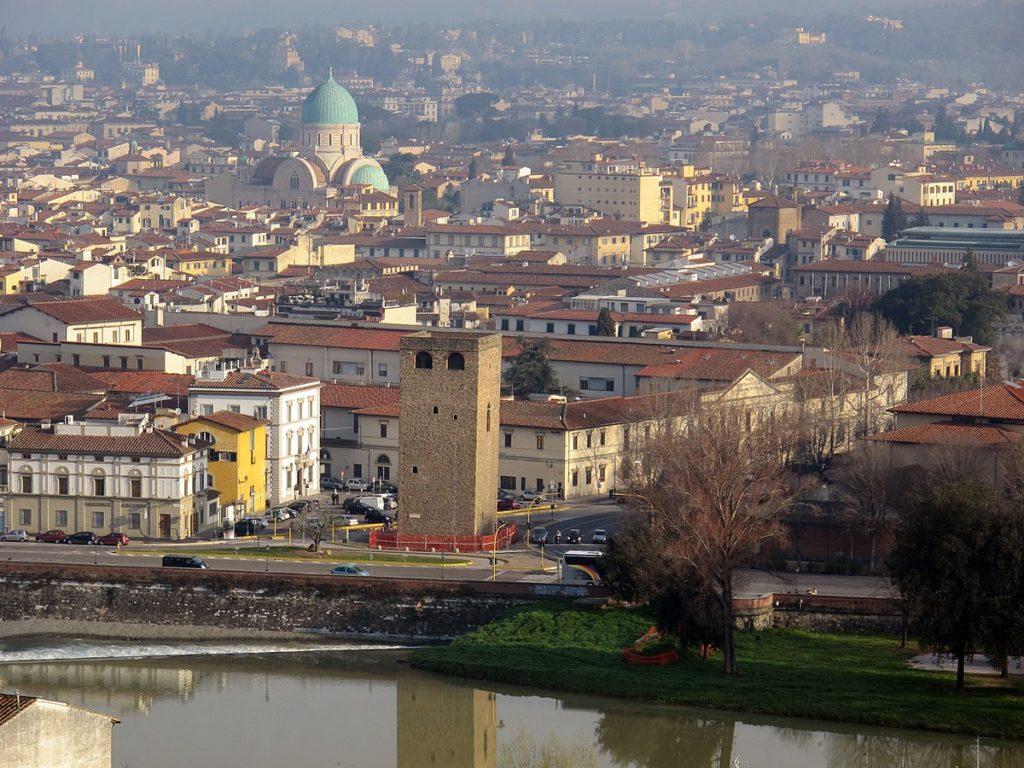 Torre Zecca Firenze La casa di carta tweet riprese terza stagione