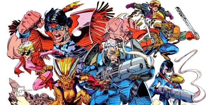 X-Force Marvel Liefeld Disney