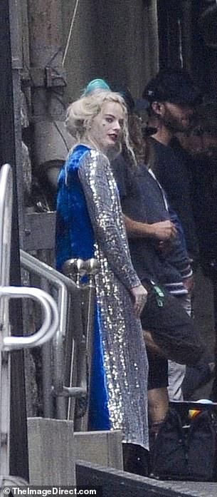 Birds of Prey: le foto dal set di Margot Robbie nei panni di Harley Quinn