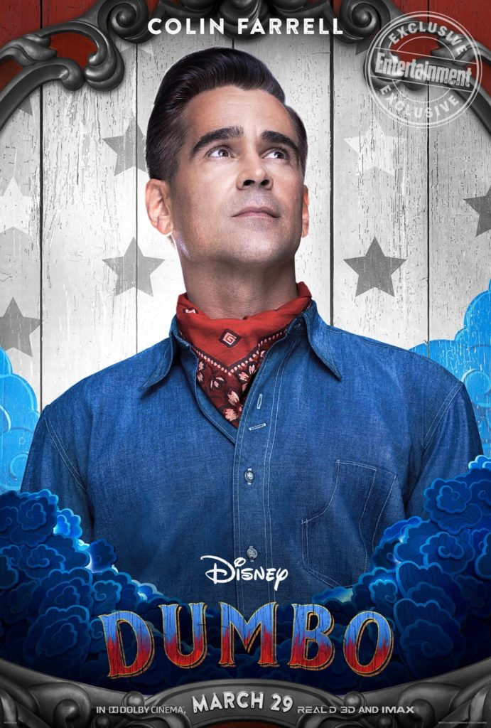 Colin Farrel è Holt in Dumbo, il live-action Disney