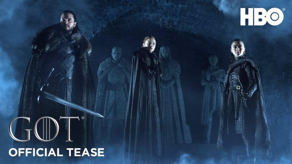 Game of Thrones 8: svelata   la data della première dell'ultima stagione! - Teaser Trailer