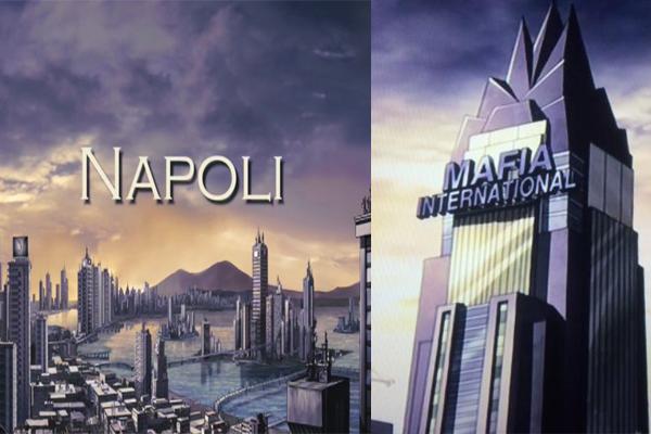 Ndranghestein - Napoli, Mafia International