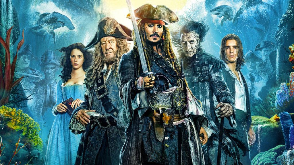 Nuovo film Disney dei Pirati dei Caraibi senza Jack Sparrow (Johnny Depp).