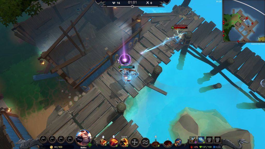 Battlerite Royale MOBA steam early access pvp indie gratis f2p champions gameplay