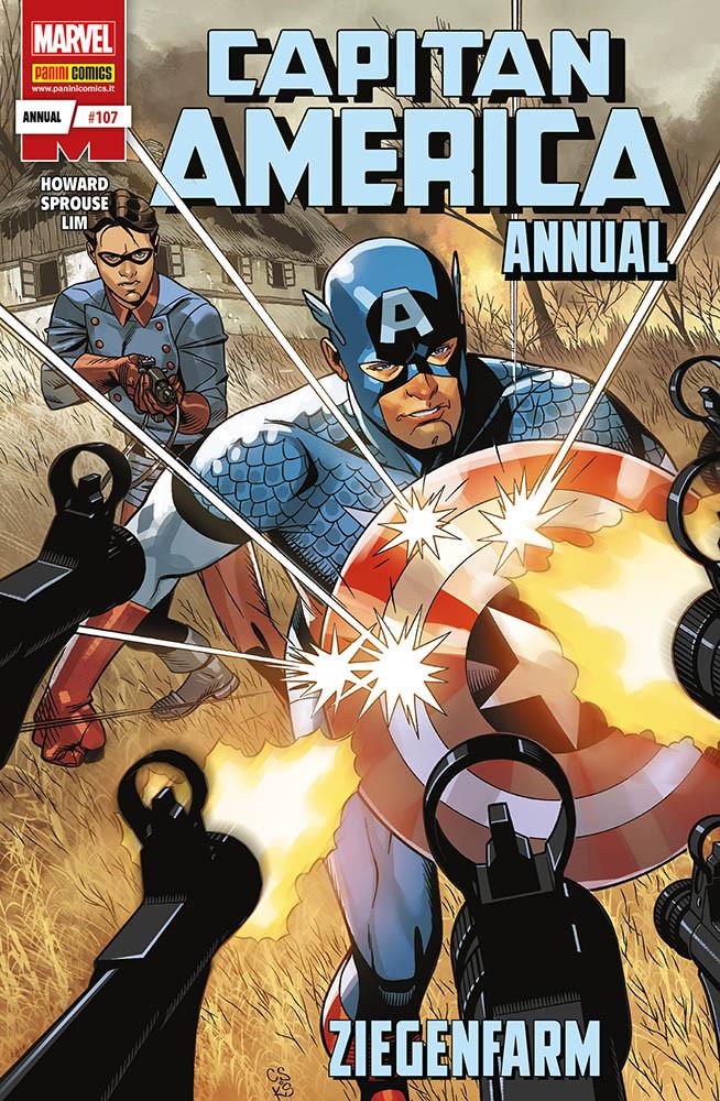 Panini Comics: annunciate le uscite del 28 febbraio 2019 - Capitan America Annual 1