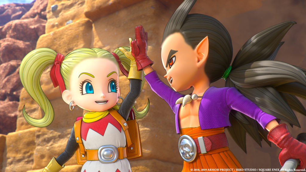 Dragon Quest Builders 2 trailer preorder ps4 switch