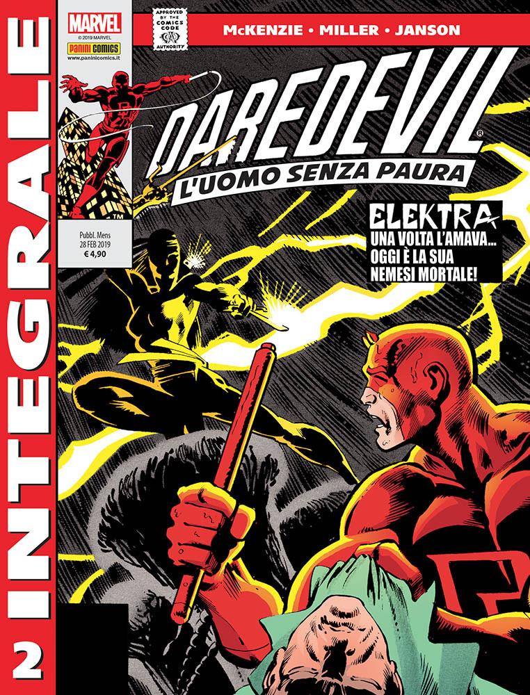 Panini Comics: annunciate le uscite del 28 febbraio 2019 - Daredevil di Frank Miller 2