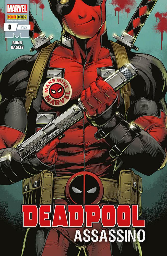 Panini Comics: annunciate le uscite del 28 febbraio 2019 - Deadpool 8