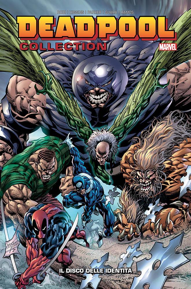 Panini Comics: annunciate le uscite del 28 febbraio 2019 - Deadpool Collection 8