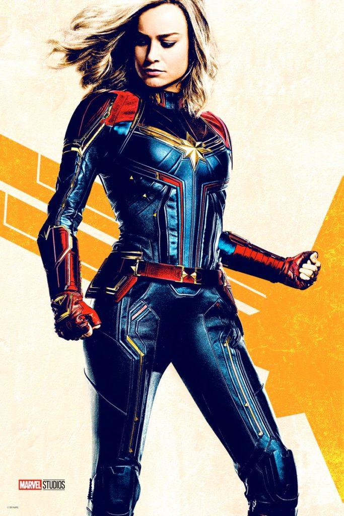 Captain Marvel (Carol Danvers), due nuovi poster