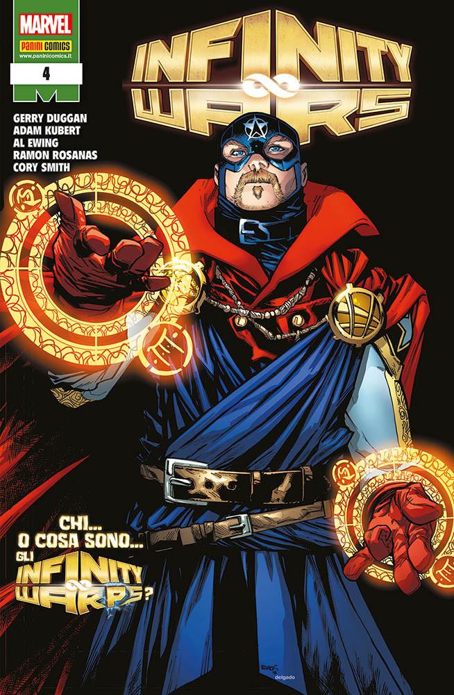 Panini Comics: annunciate le uscite del 28 febbraio 2019 - Infinity Wars 4